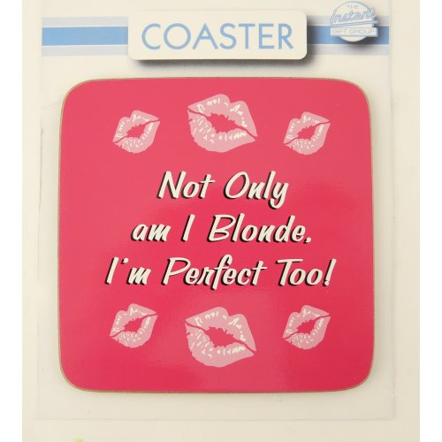 Not Only Blonde Coaster