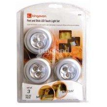 Peel & Stick LED Touch Light Set