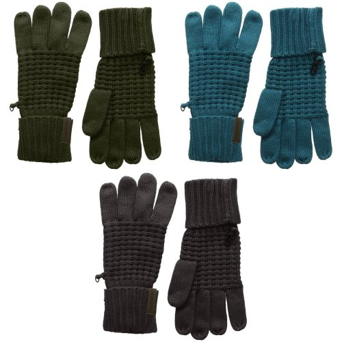 Craghoppers Outdoor Unisex Brompton Waffle Knit Winter Gloves