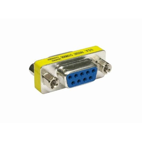 rhinocables® 9 Pin Serial RS232 Adaptor Female to Female gender changer convertor by rhinocables