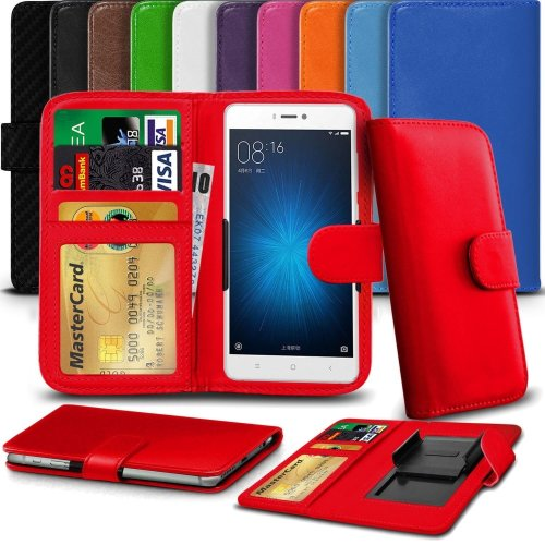 """iTronixs - Acer Liquid Jade Primo (5.5"""") High Quality Clamp Style PU Leather Wallet Case Cover"""