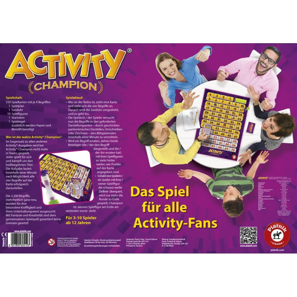 76d79c7b7 ... Piatnik 6051 – Party Game – Champion Activity - 2. >