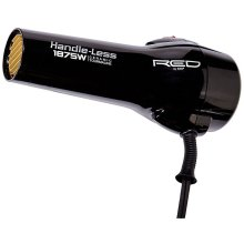 Red by Kiss Handle-Less 1875 Watt Ceramic Tourmaline  Hair Dryer – With 3 Additional Styling Attachments