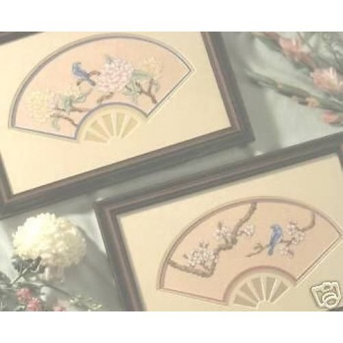 Fanfare Cross Stitch Chart - 2 Oriental Designs