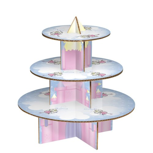 Fairy Castle 3-Tier Cake Stand