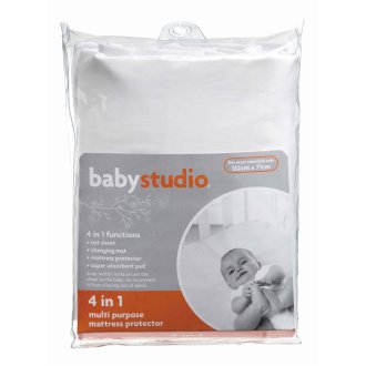 Baby Studio 4 in 1 Mattress Protector