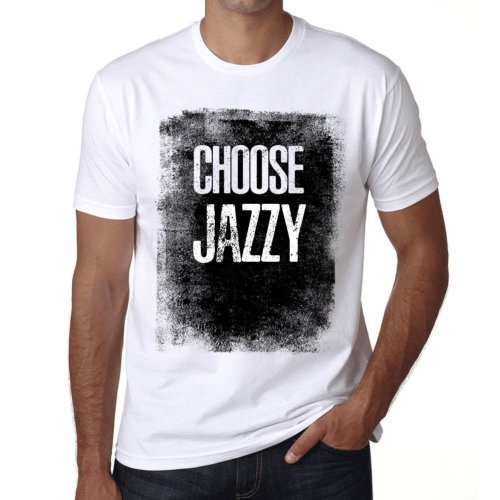 977668cb8 Mens Vintage Tee Shirt Graphic T shirt Choose JAZZY White on OnBuy