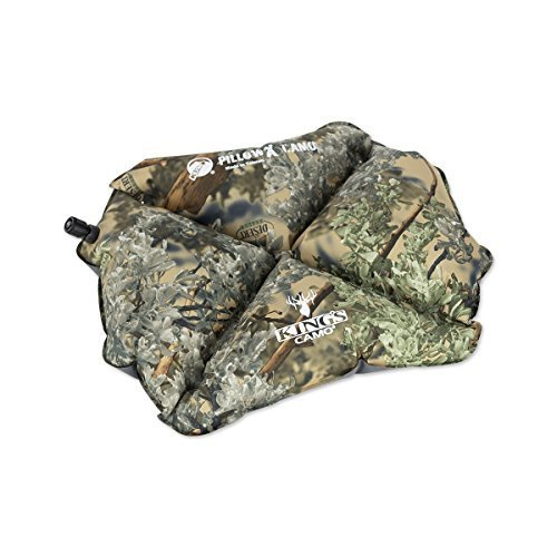 Klymit Pillow X Inflatable Camping Travel Pillow Kings Camo