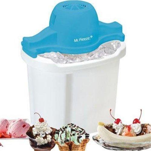 Maxi Matic USA EIM4044 Qt Ice Cream Maker White
