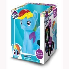 My Little Pony Illumi-mates - Rainbow Dash - Light Colour Changing Illumimate -  light my little pony rainbow dash colour changing illumimate led