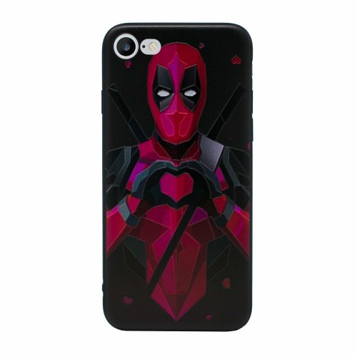 new product d9379 8a234 iPhone 6 Plus/6s Plus Marvel Silicone Case/Gel Cover for Apple iPhone 6S  Plus 6 Plus (5.5