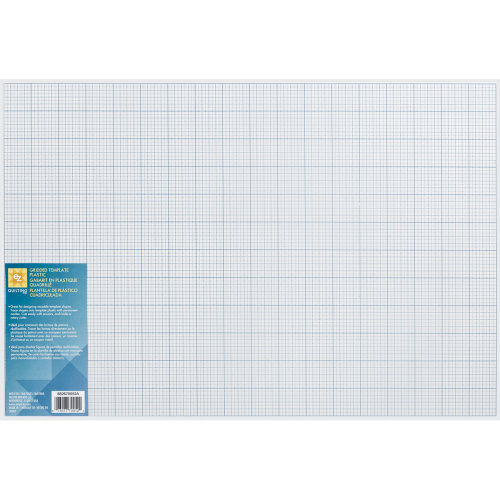 "EZ Quilting Gridded Plastic Template-12""X18"""