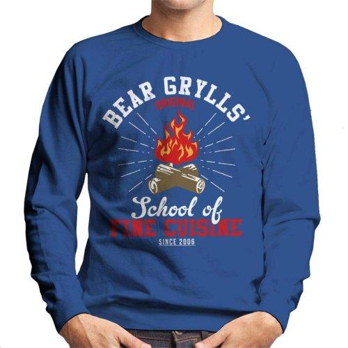 Bear Grylls School Of Fine Cuisine Men's Sweatshirt