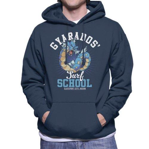 Gyarados Surf School Pokemon Men's Hooded Sweatshirt