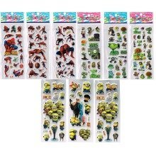 Various 24 Random Sticker Sheets Boy Girl Mix