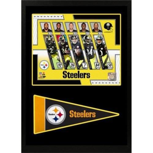 Encore Select 299-37 11 x 14 in. 2017 Pittsburgh Steelers - Pennant Frame