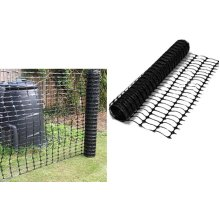 1 x 15m Black Plastic Barrier Mesh Fencing Outdoor Event
