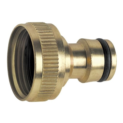 """Made of Brass Hozelock Compatible Threaded Female Tap Connector 3/4"""" and 1"""""""