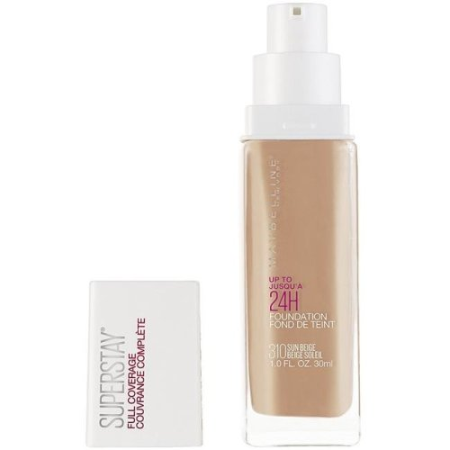 Maybelline 7715145 Super Stay Full Coverage Foundation 220 Natural Beige - Pack of 2