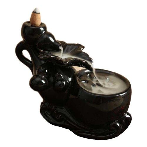 Ceramic Backflow Incense Burner Holder