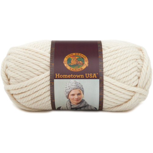 Lion Brand Hometown USA Yarn-Houston Cream