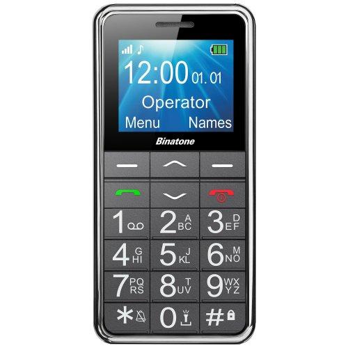 Binatone M250 Big Button GSM Phone - Black, 1.7 inch colour LCD display