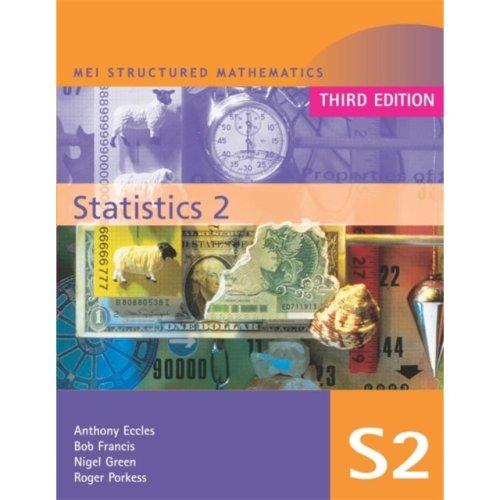 MEI Statistics 2 (MEI Structured Mathematics (A+AS Level)) (Paperback)