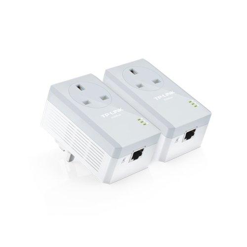 TP-LINK AV600 600Mbit/s Ethernet LAN White PowerLine network adapter