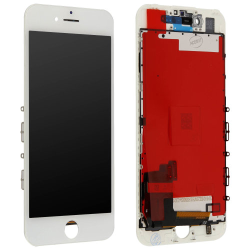 LCD replacement part with touchscreen for Apple iPhone 7 – White