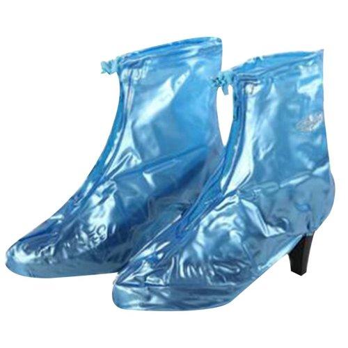 Rain Shoe Cover  Non-slip Wear  Shoe Cover Waterproof [Blue 01]