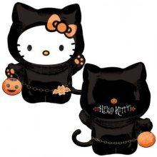 Hello Kitty Cat Costume SuperShape Foil Balloons