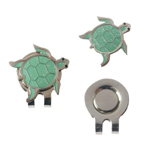 Cute Little Turtle Animal Pattern Mark Ball Standard Golf Cap Clip