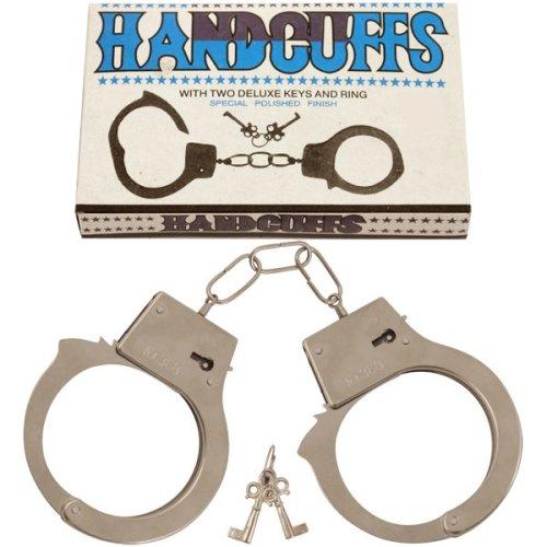 Metal Police Cop Handcuffs