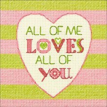 Dimensions Needlecrafts 70-65166 Dimensions All Of Me, Counted Cross Stitch - -  cathy heck all me counted cross stitch kit5x5 14
