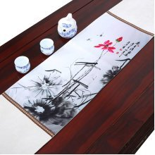 Chinese Ink Painting Design Table Runner Party Decoration