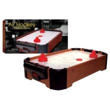 """16"""" Table Air Hockey Arcade Game - Funtime 16inch Top Family Mini -  air hockey table funtime 16inch game top family mini"""