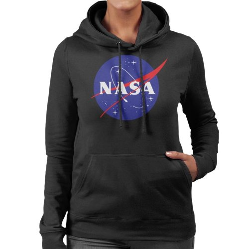 The NASA Classic Insignia Women's Hooded Sweatshirt