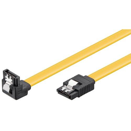 50cm Blue Akasa AK-CBSA01-05BV SATA 3.0 6Gbps UV Rounded Cable