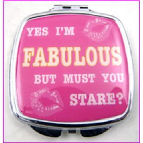 Yes I'm Fab Compact Mirror