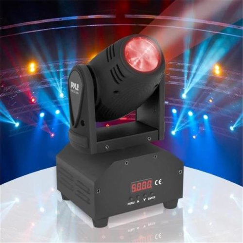 Pyle Industries PDJLT40 Multicolor LED Stage Light - DJ Sound & Studio Lighting System