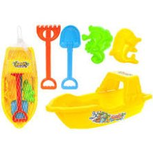 Trawler Boat Design Beach Fun Set -