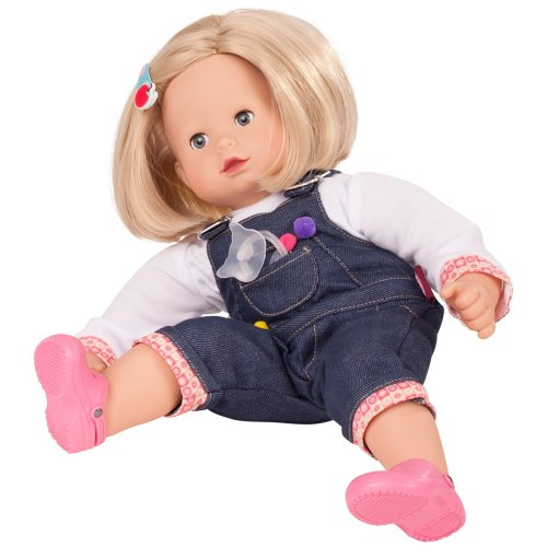 d16cd4e2e8fb Götz 1427173 Maxy Muffin Soft-Body-Doll - 42 cm Baby-Doll With Blonde Hair And  Blue Sleeping-Eyes - Suitable Agegroup 3+ on OnBuy