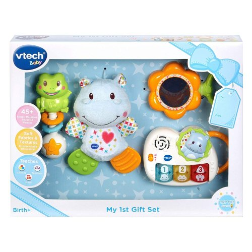 Vtech My 1st Gift Set Newborn Necessities Blue