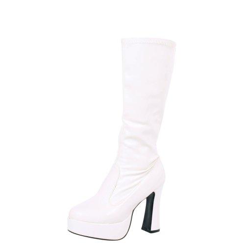 Memphis Womens Knee High Platform Gogo Boots