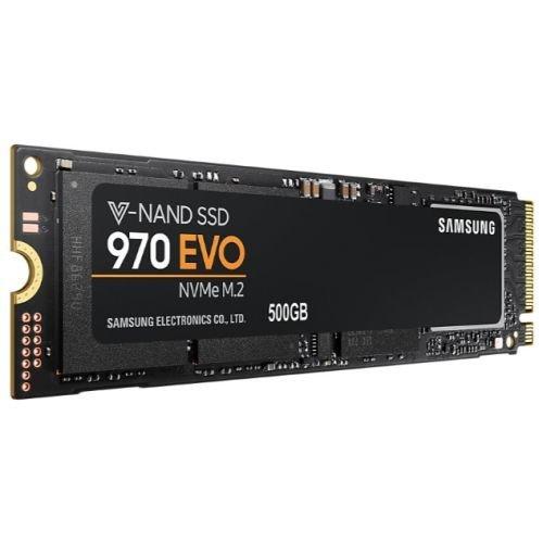 Samsung 500GB 970 EVO NVMe SSD, M.2 PCIe, V-NAND, R/W 3400/2300 MB/s