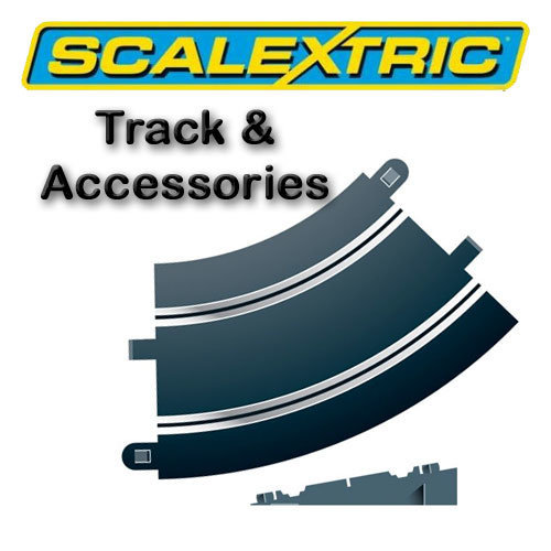 Scalextric Track - Banked Curve R2 45o