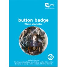 The Hobbit Group Button Badge