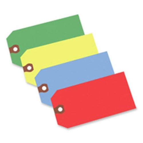 Avery Consumer Products AVE12365 Shipping Tag- No 5- Plain- 4-.75in.x2-.38in.- Green
