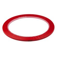 TRIXES 50m Self Adhesive Whiteboard Grid Gridding Marking Tape Red