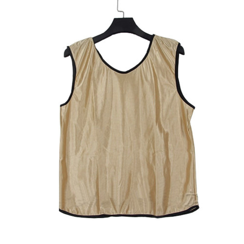 Set of 6 APRICOT One Size Basketball/Soccer Scrimmage Vests Basketball Jersey